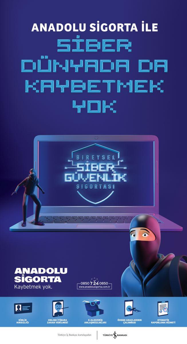 Anadolu Sigorta ile Siber Dünyada Kaybetmek Yok